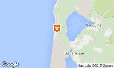 Mapa Biscarrosse Mobil home 30327