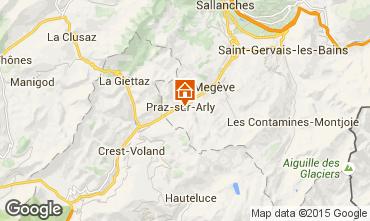 Mapa Meg�ve Chalet 99490