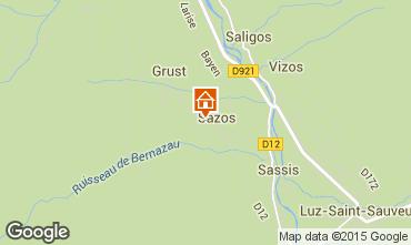 Mapa Luz Saint Sauveur Bungalow 81046