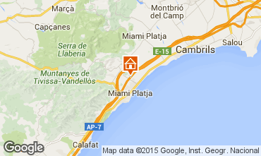 Mapa Miami Playa Villa 94859