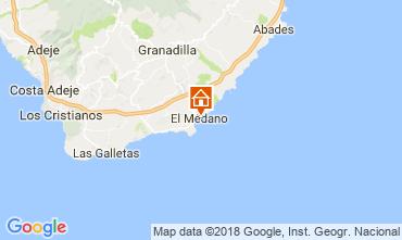 Mapa El Medano Apartamento 114545