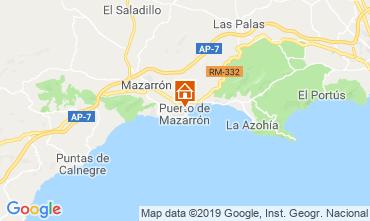 Mapa Puerto de Mazarrón Apartamento 118323