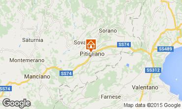 Mapa Pitigliano Estudio 85006