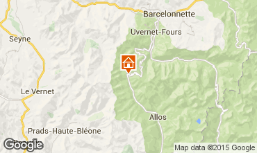 Mapa Val d'Allos Estudio 3194