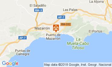 Mapa Puerto de Mazarrón Villa 113062
