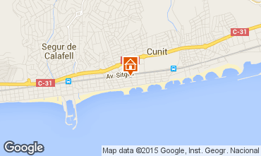Mapa Cunit Apartamento 84096