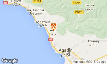 Mapa Taghazout Apartamento 74732