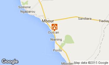 Mapa Mbour Villa 77706