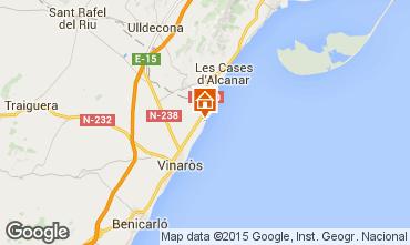 Mapa Vinaroz Villa 11349