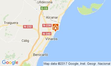 Mapa Vinaroz Villa 97392