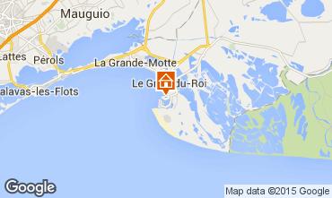 Mapa Port Camargue Apartamento 6008