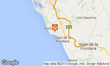 Mapa Conil de la Frontera Villa 94898