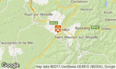 Mapa La Bresse Hohneck Apartamento 4533