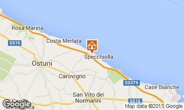 Mapa Ostuni Villa 42028