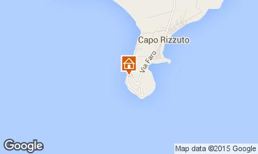 Mapa Isola di Capo Rizzuto Apartamento 63782
