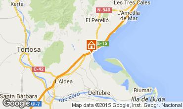 Mapa La Ampolla Villa 59145