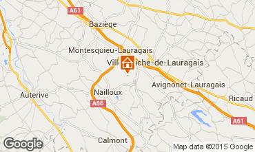 Mapa Tolosa Casa rural 13096