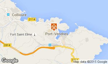Mapa Port Vendres Apartamento 80996