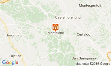 Mapa Gambassi Terme Villa 107501