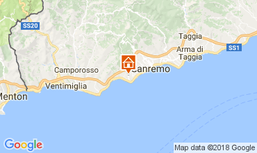 Mapa Sanremo Villa 110839