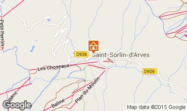 Mapa Saint Sorlin d'Arves Estudio 2689