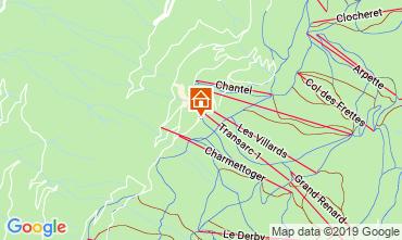 Mapa Les Arcs Apartamento 57958