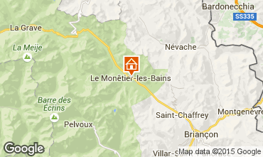 Mapa Serre Chevalier Chalet 2989