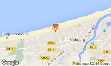 Mapa Cabourg Apartamento 62963