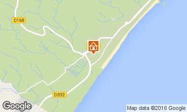 Mapa Narbonne plage Villa 74591
