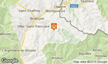 Mapa Brian�on Chalet 41024