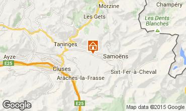 Mapa Morillon Grand Massif Chalet 83014