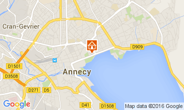 Mapa Annecy Apartamento 106034