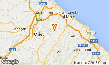 Mapa Francavilla al Mare Apartamento 84256