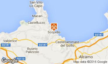 Mapa Scopello Apartamento 74600