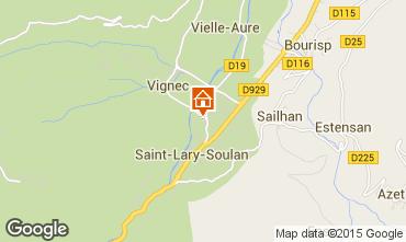 Mapa Saint Lary Soulan Estudio 80914