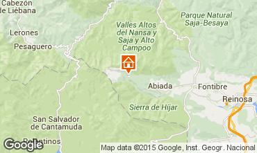 Mapa Alto Campoo Chalet 92378