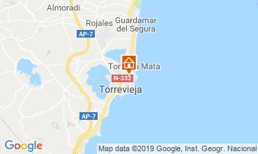 Mapa Torrevieja Apartamento 118310