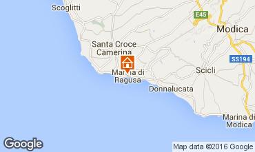 Mapa Marina di Ragusa Villa 81007