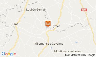 Mapa Bergerac Casa rural 36896