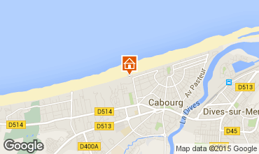 Mapa Cabourg Apartamento 10748