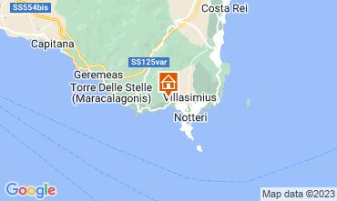 Mapa Villasimius Villa 116186
