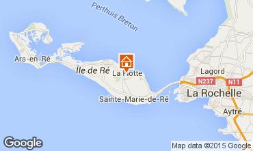 Mapa La Flotte en Ré Villa 75537