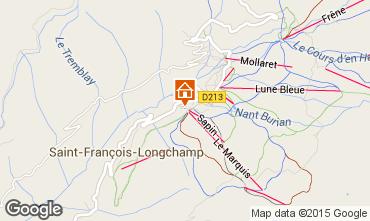 Mapa Saint François Longchamp Apartamento 74101