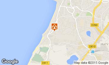 Mapa Biarritz Apartamento 22494