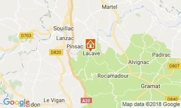 Mapa Rocamadour Casa rural 113144