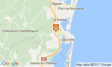 Mapa La Franqui Apartamento 58492