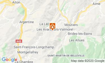 Mapa Valmorel Apartamento 111703