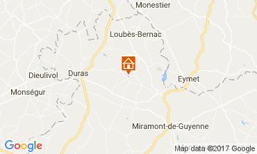 Mapa Duras Casa rural 111774