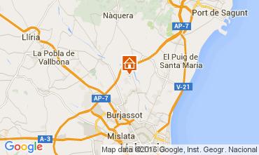 Mapa Valencia Chalet 73432