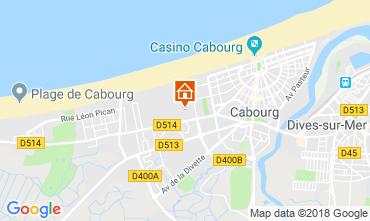Mapa Cabourg Apartamento 117330